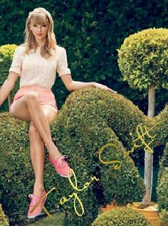 Taylor Swift, riding an elephant... :) ( @Unicorn!)