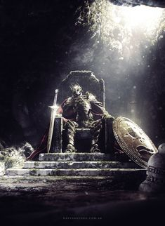 12 amazing Ancient World renders Fantasy Concept Art, Dark Fantasy Art, Fantasy Artwork, Fantasy World, Dark Art, Fantasy Warrior, Warrior Angel, Dark Souls, Fantasy Kunst