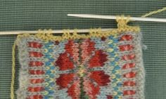 how to finish your fair isle knitting piece