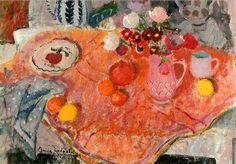 Anne Redpath (Scottish artist, 1895-1965), Pinks, 1948