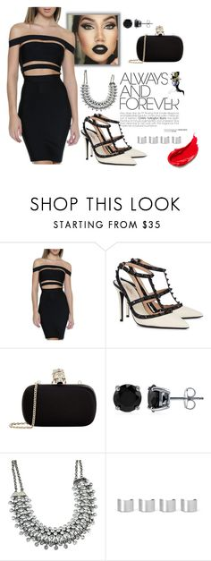 """""""3"""" by stephaniesierra1 ❤ liked on Polyvore featuring Valentino, Alexander McQueen, BERRICLE, Maison Margiela, GE, Estée Lauder, women's clothing, women's fashion, women and female"""