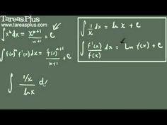 Integrales que generan logaritmos naturales parte 1