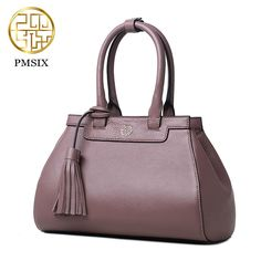 708a78a98c Pmsix 2017 leather women shoulder bag first layer of cowskin Chinese style  handbag P110006 Tote Handbags