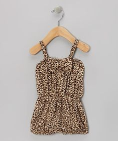 Love this Black Leopard Bow Romper - Infant & Toddler by Royal Gem on #zulily! #zulilyfinds