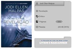Livros e marcadores2: Revelação de Jodi Ellen Malpas