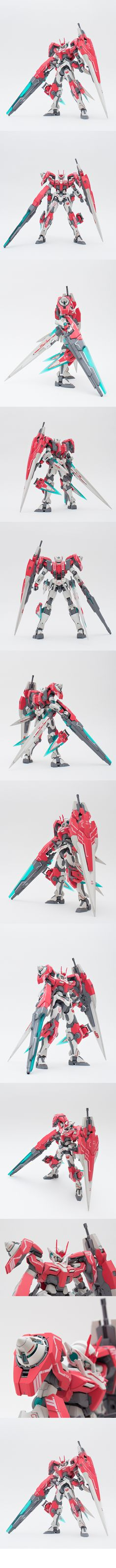 MG 1/100 GN-0000GNHW Gundam Seven Sword/G Ver.Inspection. Modeled by Kenshin.