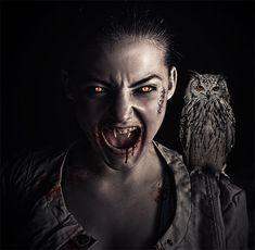 Advanced Vampire effect in #Photoshop (video)