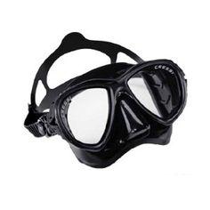 Cressi Sub Eyes Evolution 2 Lens Scuba Diving Silicone Mask