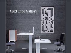 """Office Metal Wall Art Abstract Corporate Sculpture Corporate Brushed Aluminum Contemporary Cold Edge Gallery by Michele """"Palm Island"""" Doctors Office Decor, Medical Office Decor, Office Art, Large Metal Wall Art, Metal Art, Cnc, Glittering Lights, Modern Sculpture, Decorate Your Room"""