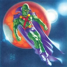 Martian Manhunter by Craig Hamilton