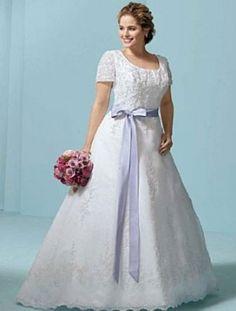 vestido-de-noiva-de-renda-laco-colorido-de-cetim-plus-size_