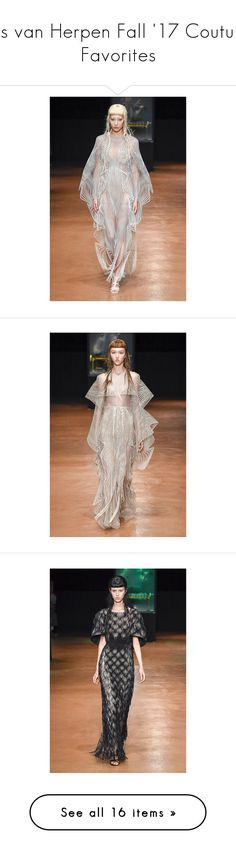 """Iris van Herpen Fall '17 Couture Favorites"" by amberelb ❤ liked on Polyvore"