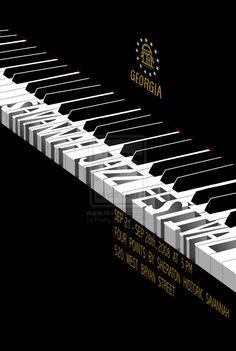 Savannah Jazz Festival Poster by Prang.deviantart.com on @deviantART