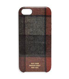 Windowpane Flannel iPhone 5 Hard Case - JackSpade