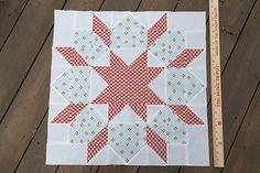 Swoon Quilt Block : Fresh Lemons Quilts : Faith