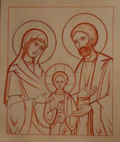 Archiwum albumów Religious Icons, Religious Art, Jesus Painting, Painting & Drawing, St Josephs Day, Christ Is Risen, Byzantine Icons, Catholic Art, Art Icon