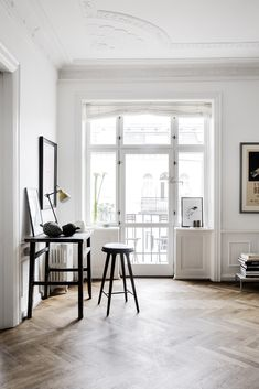 Combined living room and workspace | COCO LAPINE DESIGN | Bloglovin'