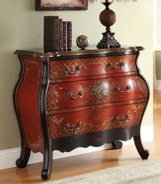 Home Meridian Hand Painted Bombay Chest