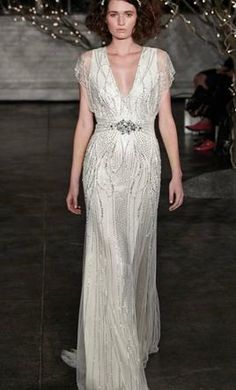 Jenny Packham Florence wedding dress currently for sale at 60% off retail.