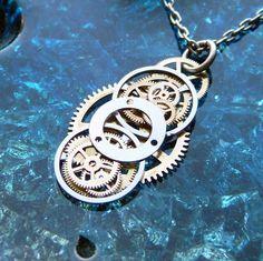 Diy Schmuck Steampunk Old Watches 57 Ideas - DIY Jewelry Stone Ideen Recycled Jewelry, Old Jewelry, Jewelry Crafts, Jewelry Art, Beaded Jewelry, Jewelry Design, Jewelry Making, Bullet Jewelry, Jewlery