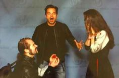 Two Cosplayers Got Engaged In Front Of Sebastian Stan And His Reaction Was Priceless