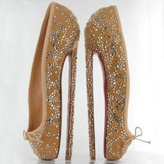 these christian louboutin shoes are intense! iloveit!