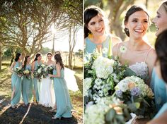 WEDDING   Andre & Leta FLOWERS   Garden Rose, dusty miller, nigella, hydrangeas PHOTO   Niki M Photography Bridesmaid Dresses, Wedding Dresses, Bouquets, Lace Wedding, Fashion, Bridesmade Dresses, Bride Dresses, Moda, Bridal Gowns