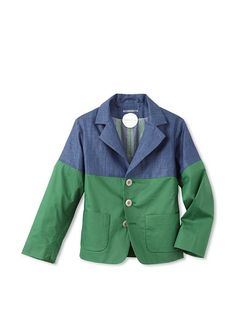 If only it wasn't sold out.  kicokids Boy's Patchwork Classic Blazer at MYHABIT