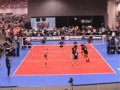 Volleyball Serve Receive Rotation 1 Formations - YouTube