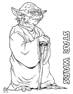 Awesome Thrill Murray Coloring Book 35 Old Yoda coloring page