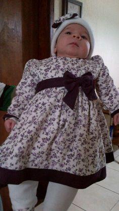 Conjunto vestido bebé