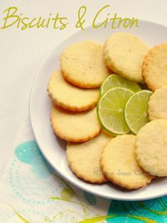 Biscuits au citron                                                                                                                                                                                 Plus