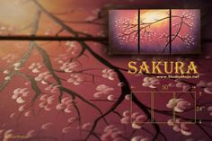 Sakura is an exclusive design that's 100% hand-painted. All arts are backed with 30day refund/exchange. The photos you see are actual and is exactly what will be shipped to you, satisfaction guaranteed!
