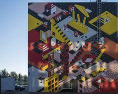 https://flic.kr/p/MAbAia | Gevelkunst, Stadskantoor, Dordrecht - Beeldenstroom Woordenstorm | Afgelopen zaterdag 24-09-2016 is door kunstenaars van het straatkunstproject Iconoclash aan twee gevels van het Stadskantoor te Dordrecht gevelkunst aangebracht. Althans het laatste stuk. Het resultaat mag er zijn! De opdracht; Geef een gebeurtenis weer, in Dordrecht, dat plaatsvond na de beeldenstorm.