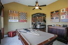 Gehan Homes Game Room Houston, Texas | Westwood - Villanova www.gehanhomes.com/gallery/gameroom-gallery/ #Gehanhomes