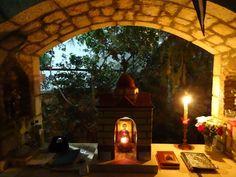 Greek Quotes, Gazebo, Outdoor Structures, Building, Greek Recipes, Prayers, Makeup, Jars, Make Up