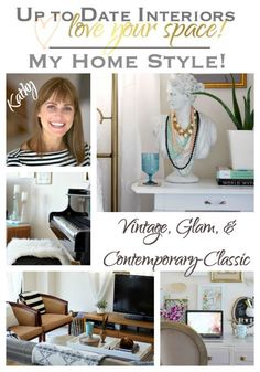 My Home Style Blog Hop - Up to Date Interiors