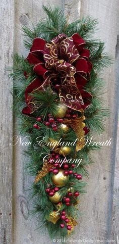 Manchester Victorian Holiday Swag by NewEnglandWreath