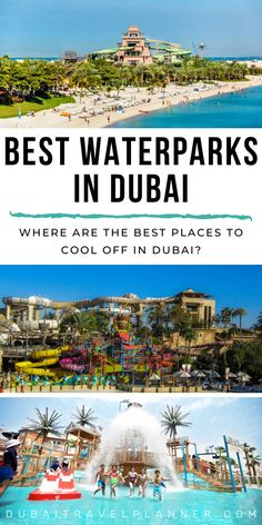 Keep your cool in Dubai checking out the sensational city water parks. Arabic themed water fun  at some of the most sensational water parks in the world. We run you through exactly what to expect at each location and how to grab your tickets & save if you are looking at multiple water parks and attractions on your Dubai trip | Dubai Travel Planner | #dubai #visitdubai #uae #waterparks #travelinspiration #dubaitravelblog