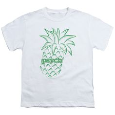 PSYCH PINEAPPLE Youth Short Sleeve T-Shirt