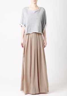 Silk Maxi Skirt by LOVER®