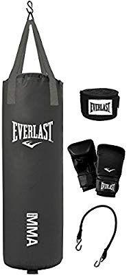 Everlast 70 Pound MMA Heavy Bag Kit | Greatest