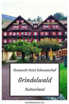 The Romantik Hotel Schweizerhof in Grindelwald, Switzerland, is a beautiful, five-star cosy hotel offering very comfortable accommodation and a lovely spa. Switzerland Itinerary, Switzerland Hotels, Visit Switzerland, Grindelwald Switzerland, Zermatt, Best Beaches In Europe, France Travel, Travel Europe, European Travel