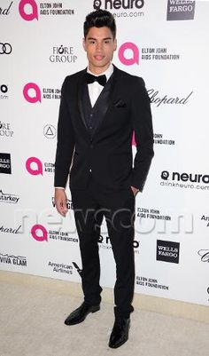 Siva Kaneswaran na 23rd Annual Elton John AIDS Foundation Academy Awards Party, em Los Angeles, nos Estados Unidos. (22 fev.)