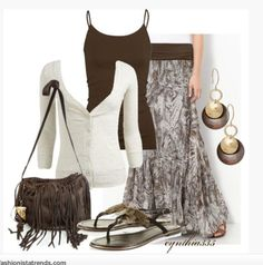 Casual Outfit love the look Komplette Outfits, Skirt Outfits, Summer Outfits, Casual Outfits, Fashion Outfits, Womens Fashion, Fashion Trends, Fashionista Trends, Modest Fashion