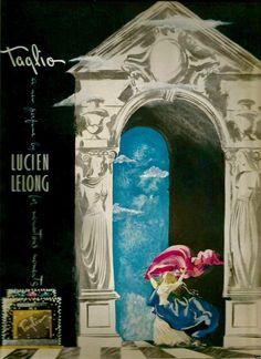 "Lucien Lelong ""Taglio"" Perfume Ad, 1946"