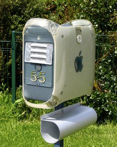 Upcycle Us: Another use for an old Mac G4