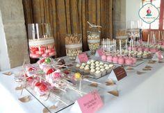 decoracion de mesas de dulces para boda - Buscar con Google