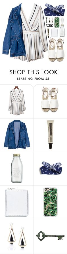 """""""DAY WEAR - FUNKY // YOINS"""" by pretty-basic ❤ liked on Polyvore featuring Aesop, Crate and Barrel, Maison Margiela, Casetify, Pier 1 Imports, Nixon, daywear, prettybasic, yoins and yoinscollection"""