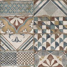 Mainzu Padua Decor 15 x 30 cm Mainzu Ceramica, Tile Steps, Chevron Tile, Decor Pad, Tile Suppliers, Feature Tiles, Kitchen Wall Tiles, Vintage Tile, Texture Design